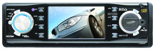 Boss BV7300 3.2-Inch In-Dash Widescreen TFT Monitor/DVD/MP3/CD Receiver