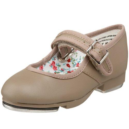 Capezio 3800 Mary Jane Tap Shoe (Little Kid/Big Kid),Tan,1.5 W Us Little Kid front-840227