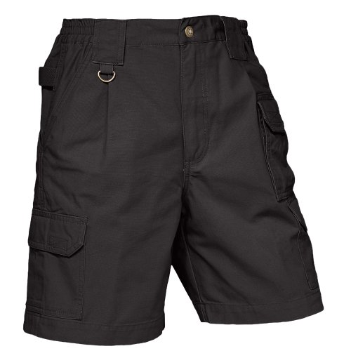 5.11 Tactical #63306 Women's New Fit Tactical Shorts (Black, 6) 5.11 Tactical Canvas Shorts