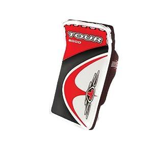 Buy Tour Hockey Youth Evo 6000 Blocker (Red Black) by Tour Hockey