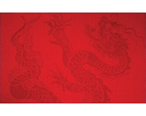 The Rug Market Dragon Area Rug  Size 2.6X3.7