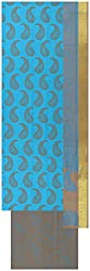 Exclusiff Collection Women's Cotton Unstitched Salwar Suit (Neon Blue)