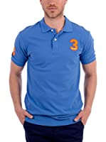 BLUE COAST YACHTING Polo Short Sleeve Polo Shirt (Azul)