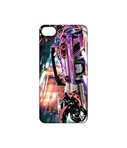 Vogueshell Bike And Car Race Printed Symmetry PRO Series Hard Back Case for Apple iPhone 6