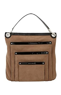 Patent and Suede Shopper