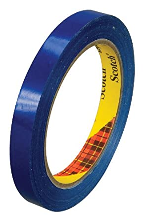Scotch Film Strapping Tape 8898 Blue, 18 mm x 55 m (Case of 48)