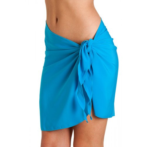 Camille Womens Short length summer beach Sarong One size