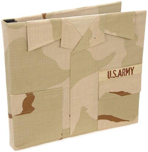 Uniformed U.S. Army Desert Combat Uniform Keepsake Album