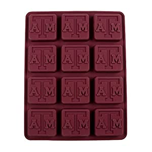 Texas A&M Silicone Ice Tray / Candy Mold (2 Pack)