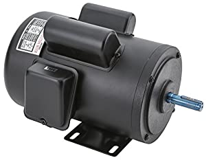 Grizzly h5382 1 1 2 hp motor single phase 110v 220v for 3 hp single phase 220v motor