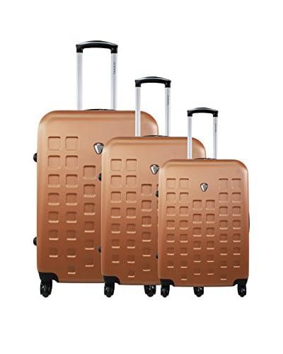 ZIFEL Set de 3 trolleys rígidos 004C