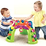 Refined Fisher-Price Rhythm and Moves Stand Up Ballcano - Cleva Edition ChildSAFE Door Stopz Bundle