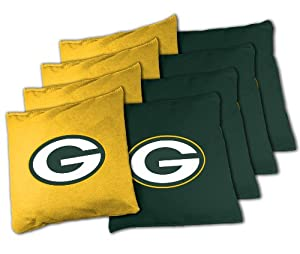 NFL Green Bay Packers Official Cornhole Bean Bag Sets by Wild Sports