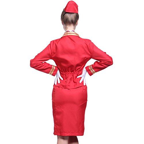 d guisement costume tenue uniforme lingerie sexy hotesse de l 39 air coquin s m l femme fille adult. Black Bedroom Furniture Sets. Home Design Ideas