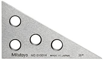 Mitutoyo Series 981, 010014 Angle Block, +/- 40 sec Accuracy, 30/60/90 Degree Angles