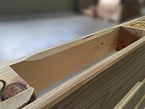paletta hochwertige neue m belpalette aufw ndig gehobelt und geschliffene europalette 120. Black Bedroom Furniture Sets. Home Design Ideas