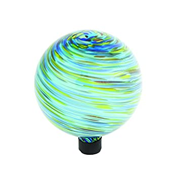 Russco III GD137197 Glass Gazing Ball, 10