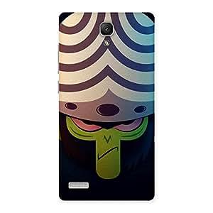 Impressive Green Black Mojo Back Case Cover for Redmi Note Prime