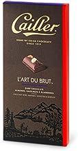 Cailler L'Art du Brut, Zartbitterschokolade 54 Prozent Kakao mit ganzen Mandeln, Haselnüssen und Blaubeeren, 2 Tafeln (2 x 195 g)