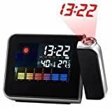 Generic Multi-function LCD Projection Digital Weather Alarm Clock