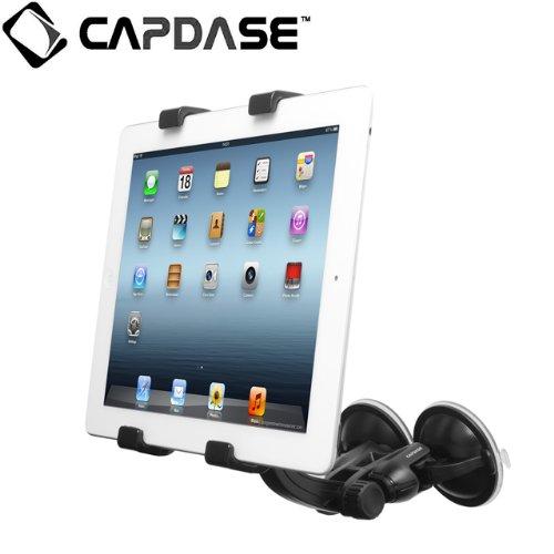 CAPDASE 日本正規品 SuctionDuo Car Mount Holder Tab-X for iPad mini / iPad Retinaディスプレイモデル (第4世代) / iPad (第3世代) / iPad 2 / iPad / Android / 10インチ&7インチ タブレット 対応 サクションデュオ カー マウントホルダー HRAPIPAD3-ST01