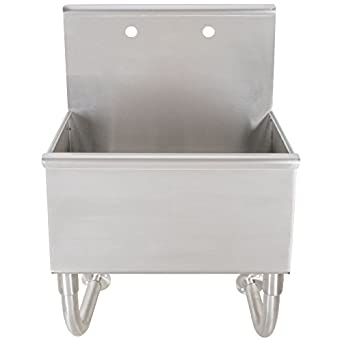 Food Service Sinks : Wall Mounted Service Sink: Utility Sinks: Amazon.com: Industrial ...