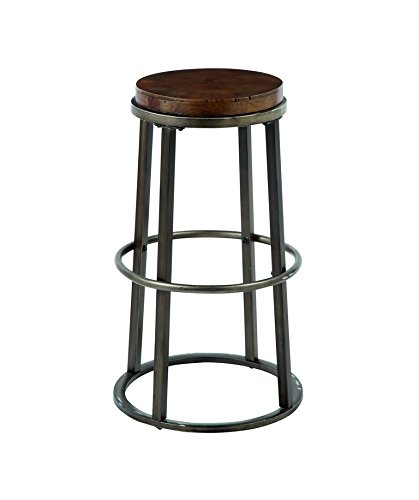 Signature Design by Ashley D548-330 Vintage Casual Pub Height Barstool, Medium Brown, Pub Height (Set of 2) 0