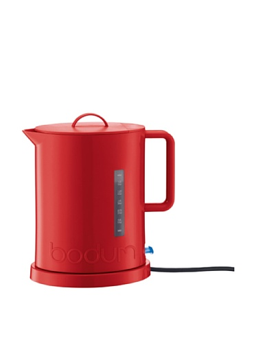 Bodum 5500-294Us Ibis Electric Water Kettle, 57-Ounce, Red