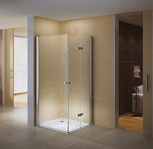 80cm x 100cm porte pliante pour douche en coin sans Porte de douche pliante 100