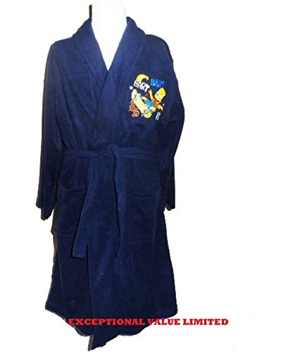 kids-boys-children-the-simpsons-bart-dressing-gown-robe-official-navy-8-9-years