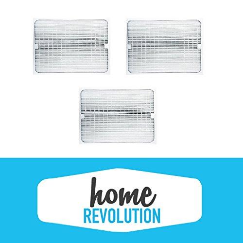 3 BlueAir 200/300 Series Home Revolution Brand Air Purifier Filter; Fits 201, 210B, 203, 250E, 200PF
