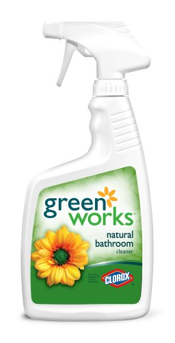Clorox Greenworks General Bathroom Cleaner Spray, 24-Ounce Spray Bottle (Pack of 12)