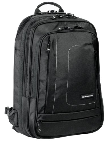 Brenthaven MetroLite BP XF X-Ray Friendly Laptop / Tablet / Ultrabook Backpack - Black