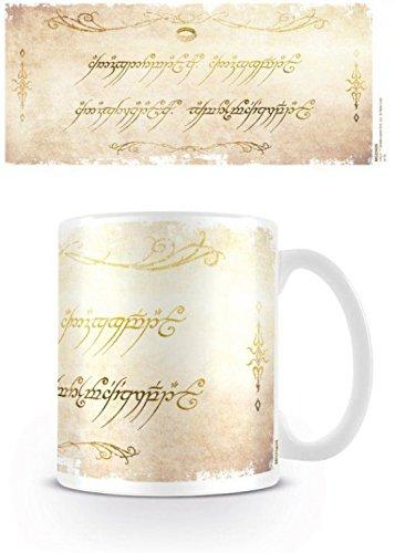 Il Signore Degli Anelli - Un Anello Per Domarli Tazza Da Caffè Mug (9 x 8cm)