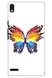 IndiaRangDe Case For Huawei Ascend P6 Printed Back Cover