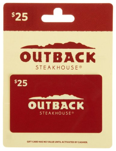 Outback Steakhouse Gift Card $25 image