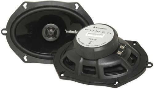 New Rockford Fosgate Punch 5X7 2-Way Car Audio Speakers