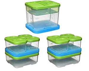 Rubbermaid Lunch Blox Set (3 kits)
