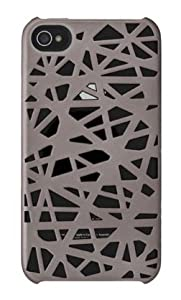 Incase Metallic Bird's Nest Snap Case V2 for iPhone 4 Steel