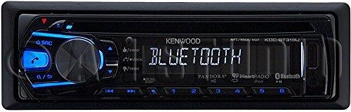Kenwood Single-Din Bluetooth Car Stereo w/ Pandora & iHeart