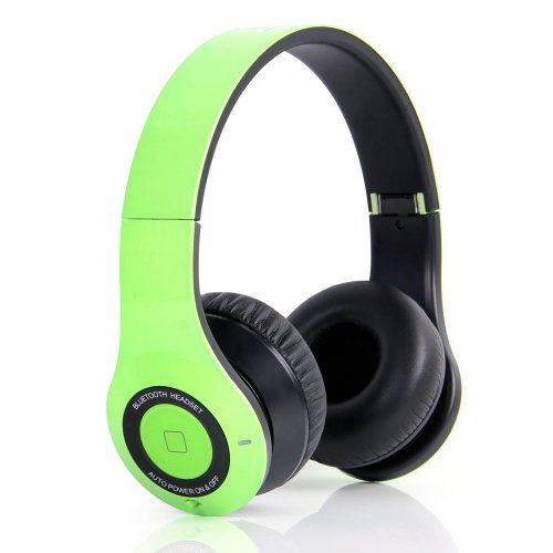 Bluedio B2 Bluetooth Stereo Headset For Mobile Phones - Retail Packaging - Green