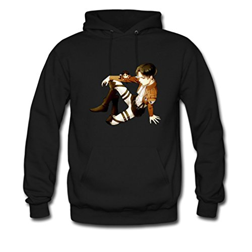 hjgbeds-mens-japan-anime-attack-on-titan-levi-gildan-hoody-coat-medium-black