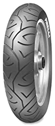 Pirelli Sport Demon Tire - Rear - 140/80-17 , Position: Rear, Tire Size: 140/80-17, Rim Size: 17, Load Rating: 69, Speed Rating: V, Tire Type: Street, Tire Construction: Bias, Tire Application: Touring 1342600