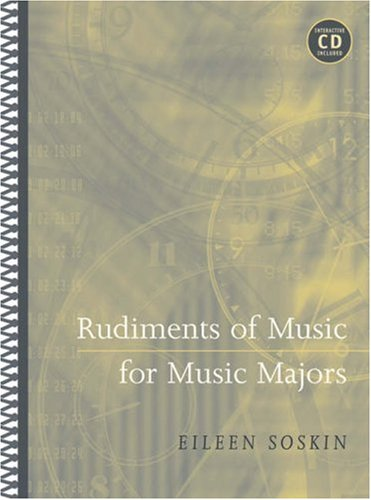 Rudiments of Music for Music Majors (with CD-ROM)