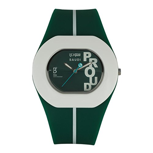 B360 WATCH Unisex Orologio da polso B PROUD Medium, 3 bars al quarzo in silicone sau dian