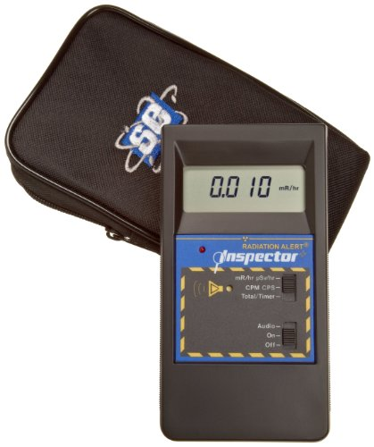 Radiation Alert INSPECTOR Microprocessor-Based Ionizing Radiation Detector