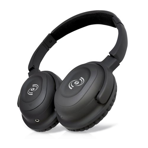 Pyle Home Phbt35 Stereo Bluetooth Streaming Wireless Headphones With Answer Calls And Built-In Microphone, Black
