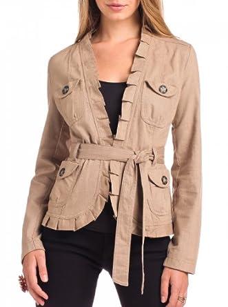 stein mart 4 pocket ruffle jacket compare at 48 at