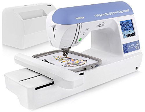 Brother SE1800 Sewing Quilting & Embroidery Machine Combo with Deluxe Starter Set (Brother Pe780d compare prices)