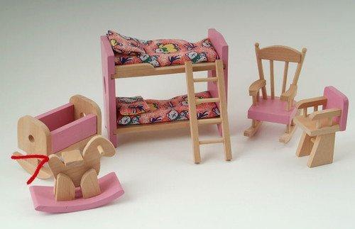 wooden-dolls-house-furniture-set-pink-childrens-bedroom